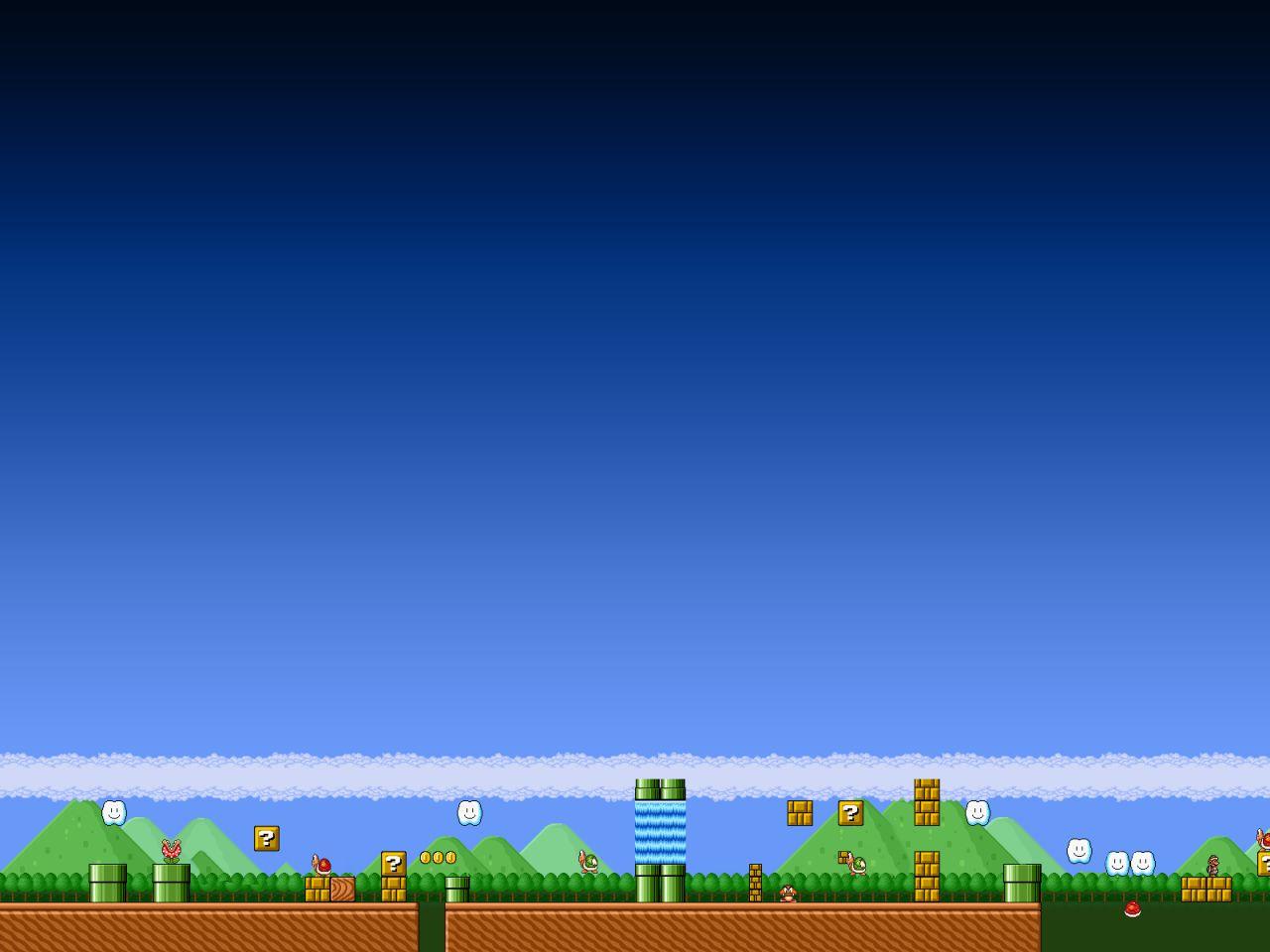 Wallpapers Hd Wallpapers Juego Super Mario Bros Hd