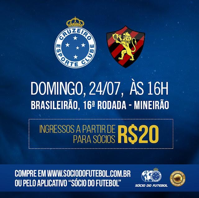 Campeonato Brasileiro - Cruzeiro x Sport