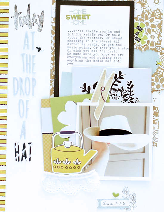 Sian Fair scrapbooking for Get It Scrapped