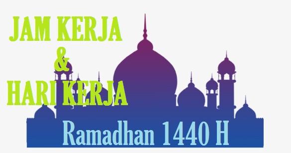 jam kerja dan hari kerja kantor pajak ramadhan 2019