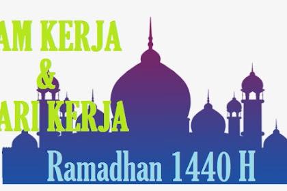 Jam Kerja dan Hari Kerja Kantor Pajak Ramadhan 2019 1440H