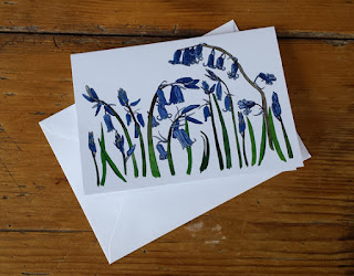 Bluebell card by Alice Draws The Line