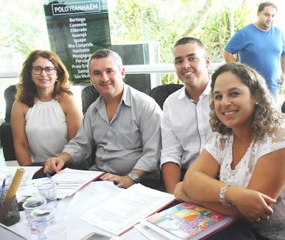 Geraldino Júnior e gestores da Ilha participaram de Workshop da Aprecesp /SENAC