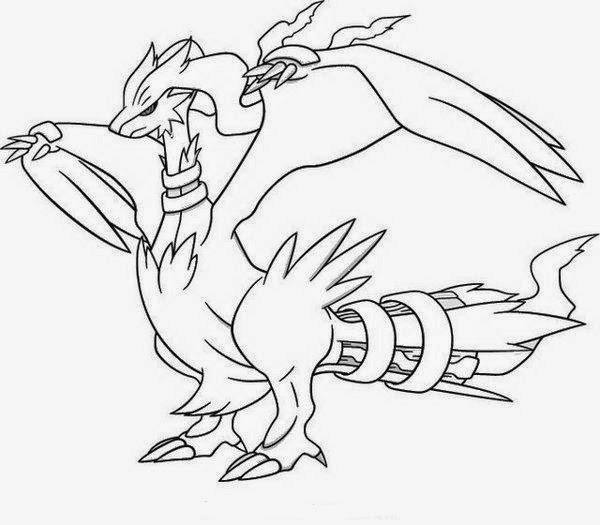 Special collection of pokemon black and white coloring for Cool pokemon coloring pages