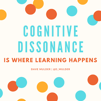 Science as a Story: Promoting Cognitive Dissonance