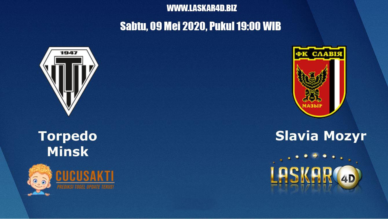Prediksi Bola Slavia Mozyr vs Torpedo BelAZ 09 Mei 2020