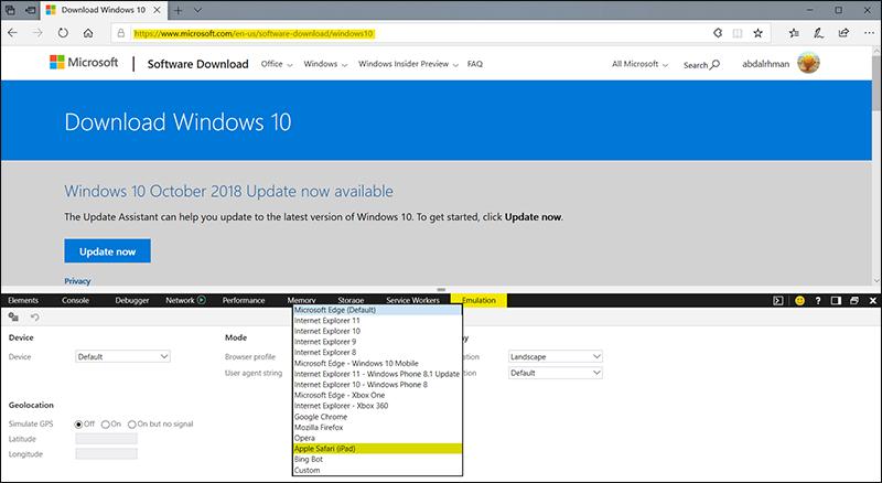 تحميل-ملف-الـ-ISO-من-موقع-مايكروسوفت-مباشرًة