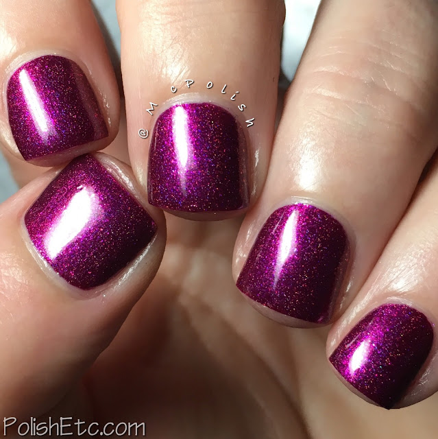 Great Lakes Lacquer - Holiday 2017 - McPolish - A Warm, Bright Flame