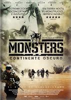 Monsters: El continente oscuro (2014) online y gratis