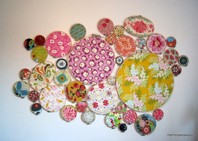 how to embroidery hoop art