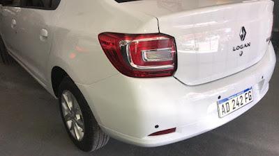 Renault Logan listo para entregar a su dueño, trabajo finalizado de sacabollos, micropintura, pulido y lustrado