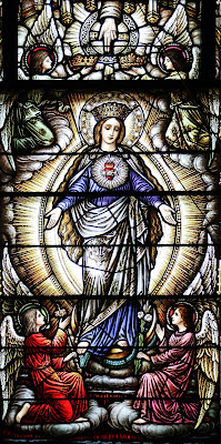 Imagem de Nossa Senhora Imaculada, vitral, #3
