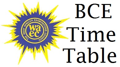 BECE Time Table 2018 | Basic Junior WAEC Timetable & Result Checker