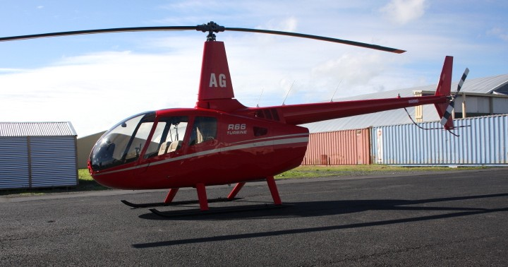NZ Civil Aircraft: Our first Robinson R66 Turbine