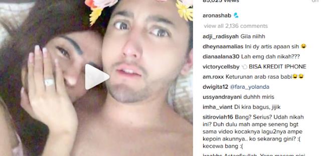 Aron Ashab Unggah Video Mesum dan Hina Habib Rizieq, Netizen: Muka Arab Kelakuan Kafir!