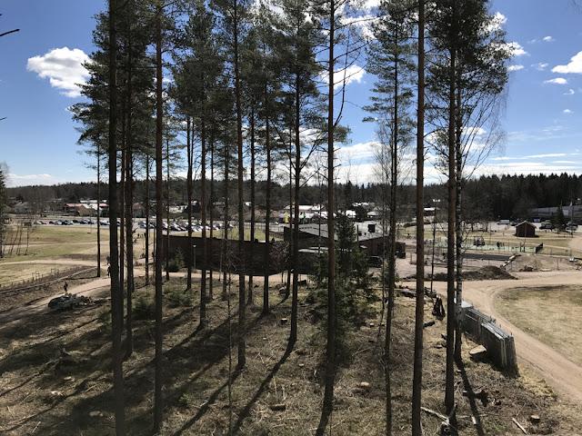 Uusi köysiseikkailupuisto avattiin Helsingin Paloheinään 3