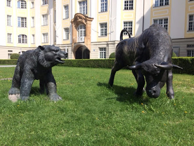 Bulle und Bär München Börse