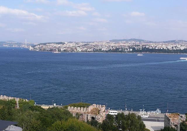 Palacio Topkapi vista desde Cuarto Patio