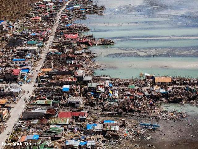 12 Tewas Pada Badai Mangkhut di Utara Filipina