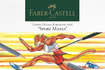 Lomba desain karakter 2018 Faber-Castell untuk pelajar SMP dan SMA