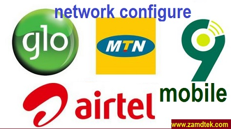 MTN, GLO, AIRTEL, GLO, and 9Mobile Manual configuration settings