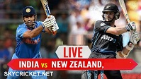 Watch India v New Zealand ODI Series