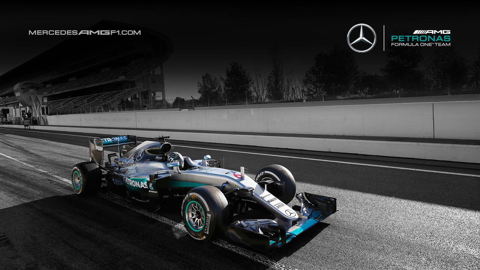 Mercedes w08 f1 wallpaper 6