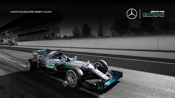 Barcelona F1 2016 Mercedes AMG Petronas