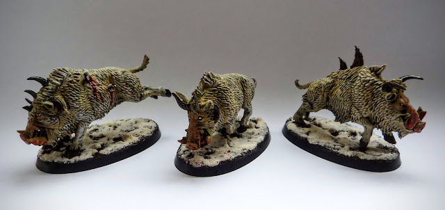A painting and conversion update for Razorgor for Warhammer Age of Sigmar.