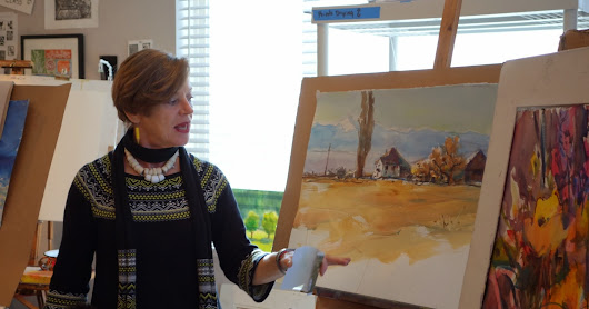 Feb 21-22 2-Day WORKSHOP: The Magic of Watercolor with STELLA CANFIELD. Feb 2017, 10am-4:30pm