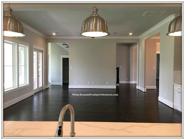 New Construction-Open House-Southern Style-Home-Living Room-From My Front Porch To Yours