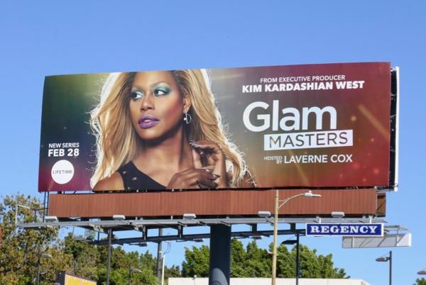 Glam Masters series premiere billboard