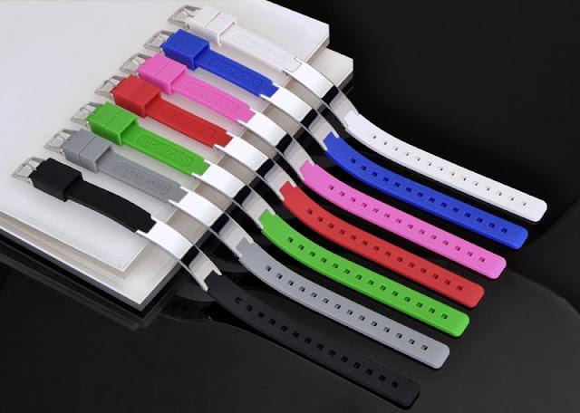 Multi-Color Silicon Magnetic Power Ion Energy Balance Sport Bracelet