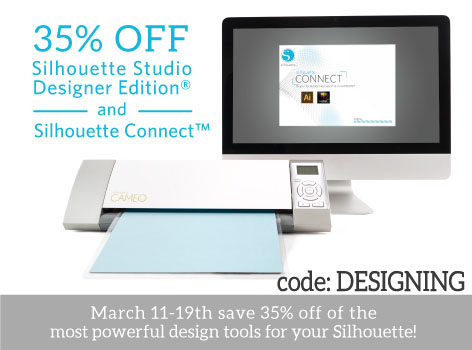 Silhouette Designer Edition Software Silhouette Connect Sale Simply Designing With Ashley