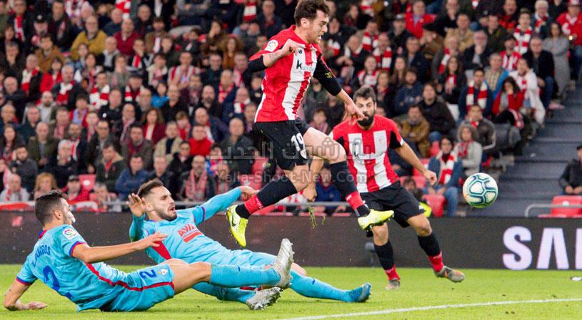 ايبار يفرض التعادل السلبي على نادي أتلتيك بلباو في الجولة 17 من الدوري الاسباني