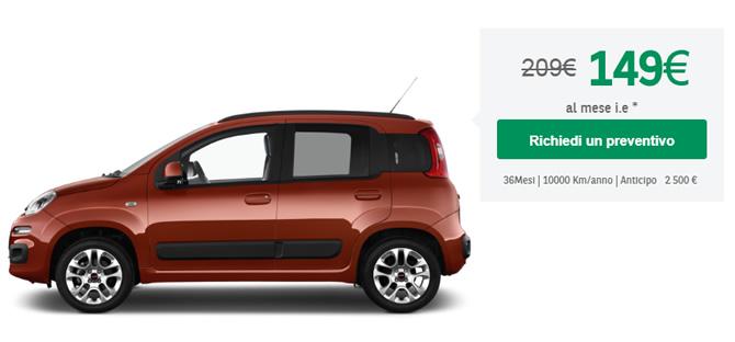 costo autovettura noleggiata