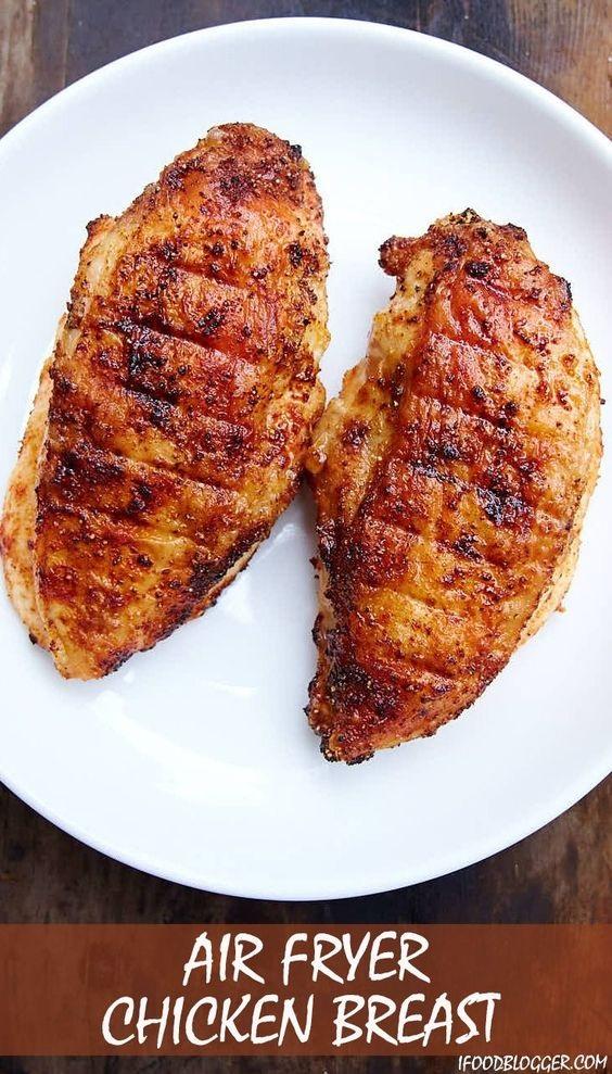 Air Fryer Sesame Chicken Breast