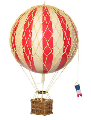 Hot Air Balloon Decor on ebay