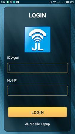 Cara Transaksi via Aplikasi Android JL Mobile Top Up di Server Jelita Reload Termurah Saat Ini