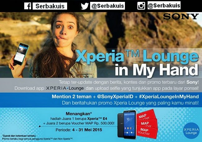 Xperia Lounge In My Hand