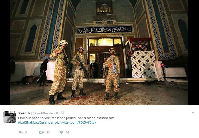 NEWS | Pakistan: Over 70 killed in suicide attack at Lal Shahbaz Qalandar Shrine
