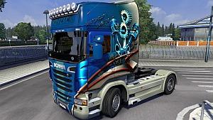 Scania R Konzack skin mod