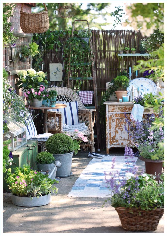 Sognare un giardino shabby chic interiors for Idee di aggiunta cottage