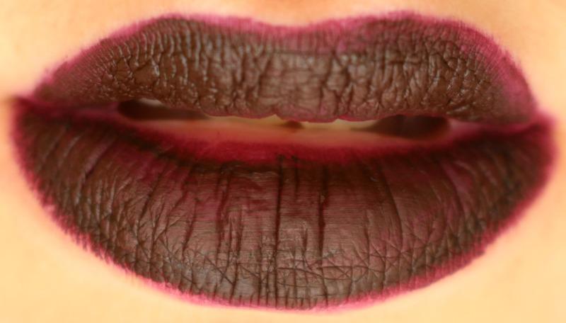 MAKE UP FOR EVER Artist Liquid Matte Lipstick 505 blackcurrant