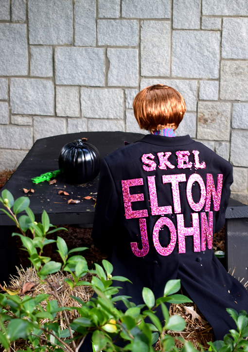 "Scarecrows in the Garden | ""Skel-ELTON JOHN"" 