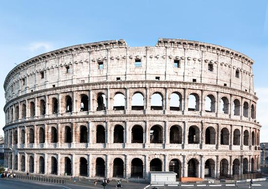 Coliseo restaurado por Tod's