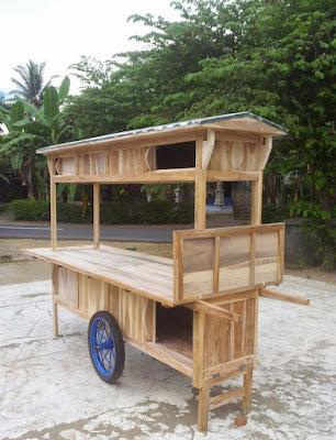 model gerobak angkringan modern terbaru