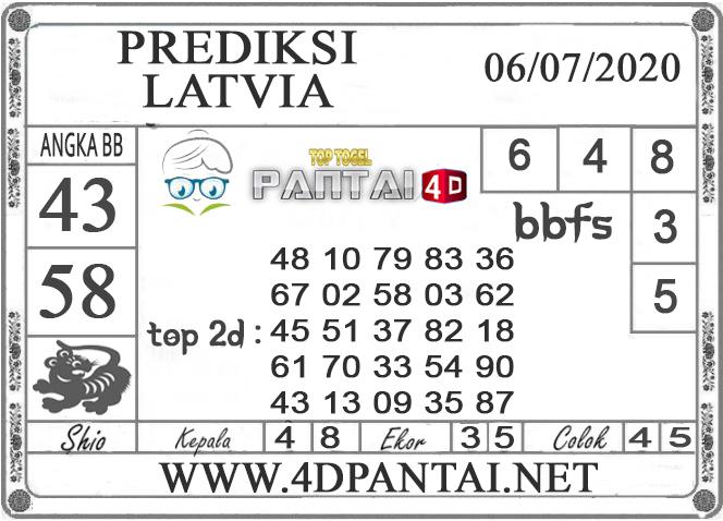 PREDIKSI TOGEL LATVIA PANTAI4D 06 JULI 2020