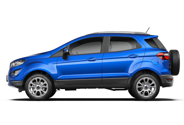 All New 2017 Ford EcoSport Side angle hd image
