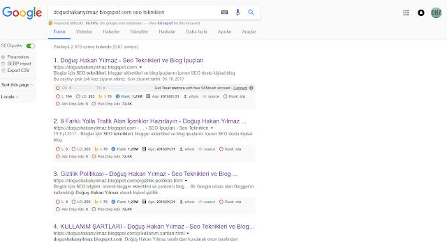 google-sonuçlar